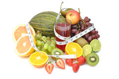 Fruit diet Royalty Free Stock Photography
