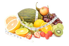 Fruit diet Stock Image