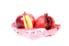 Fruit diet Stock Images