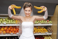 Fruit diet for brides Stock Photography