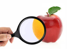 Fruit diet concept Royalty Free Stock Photos