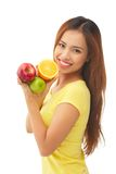 Fruit diet Royalty Free Stock Photos