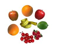 Fruit for dieting Royalty Free Stock Image