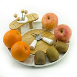 Fruit on plate Royalty Free Stock Photography