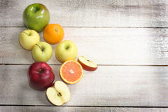 Fruit display Stock Images