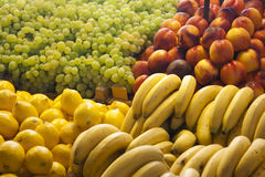 Fruit on display in a market in Budapest Royalty Free Stock Photo