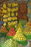 Fruit display Royalty Free Stock Images