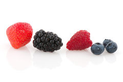 Fruit diversity close Royalty Free Stock Photography