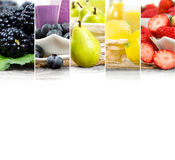 Fruit Drink Mix Royalty Free Stock Photography