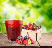 Fruit drink Royalty Free Stock Photos