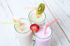 Fruit drinks Royalty Free Stock Photos