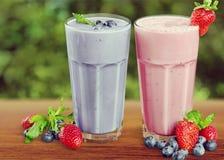 Fruit drinks Stock Image