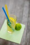 Fruit drinks. Fresh lemonade Stock Photos