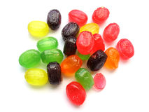 Fruit drops Stock Image