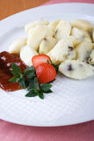 Fruit dumplings Stock Photos
