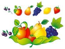 Fruit en bes Royalty-vrije Stock Foto's