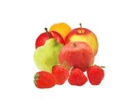 Fruit en bessenschotel Royalty-vrije Stock Foto