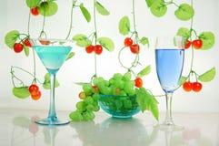Fruit en drank Royalty-vrije Stock Fotografie