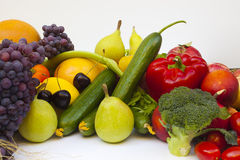 Fruit en groente royalty-vrije stock foto