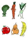 Fruit en Groente vector illustratie