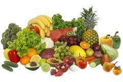 Fruit en groenten stock foto's