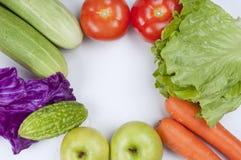 Fruit en groenten Stock Afbeeldingen