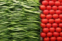 Fruit en groenten stock afbeelding