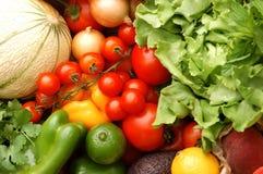 Fruit en groenten van de markt Stock Afbeelding