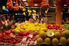 Fruit en groentenmarkt. Royalty-vrije Stock Fotografie