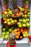 Fruit en plantaardige ijskast Stock Fotografie