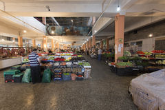 Fruit en plantaardige markt Royalty-vrije Stock Foto