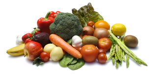 Fruit en Veg royalty-vrije stock foto's