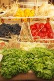 Fruit en Veg-Vertoning, Friuli-Doc. Royalty-vrije Stock Foto's