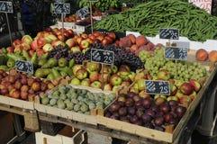 FRUIT EN VEGE VANDOR Stock Afbeelding