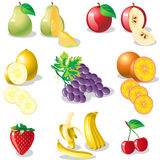 Fruit.eps Fotografia de Stock Royalty Free