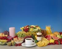 Fruit et boissons mélangés Images libres de droits