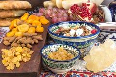 Fruit et bonbons asiatiques centraux Image stock