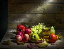 Fruit et jus de fruit Photos libres de droits