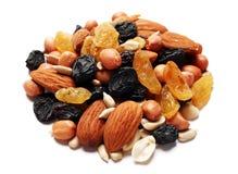 Fruit et noix secs Photographie stock