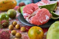Fruit exotique savoureux Photographie stock libre de droits