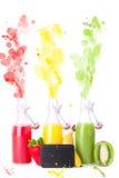 Fruit explosion Stock Photo