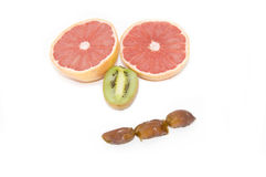 Fruit Expressions Royalty Free Stock Photography