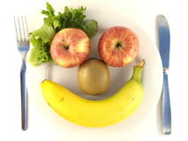 Fruit Face Stock Images