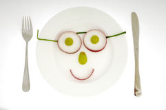 Free Fruit Face Stock Photography - 2258432