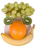 Fruit face Stock Image