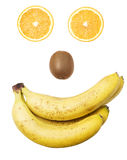 Fruit face Royalty Free Stock Photography