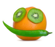 Fruit Face Royalty Free Stock Image