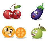 Fruit faces Stock Photos