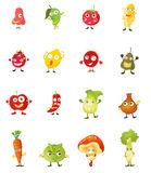 Fruit faces Royalty Free Stock Photos