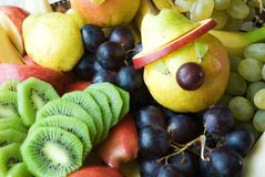 Fruit Fantasy. From pear fruit in the background, Fruit Fantasy Stock Images